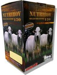 NUTRIBOV 120- NÚCLEO PROTEINADO COM PROBIÓTICOS