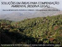 ÁREAS PARA COMPENSAÇÃO AMBIENTAL NO BIOMA DE CERRADO E MATA ATLÂNTICA