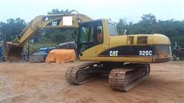ESCAVADEIRA CAT 320C ANO 2006 COM APENAS 4.900 HORAS ORIGINAIS!!