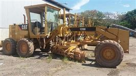 MOTONIVELADORA CAT 120H ANO 2008 COM 6.400 HORAS ORIGINAIS !!
