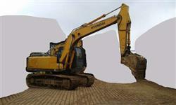 Escavadeira Hyundai R160 ano 2009