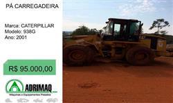 PÁ CARREGADEIRA CAT 938G ANO 2001!!