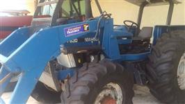 Trator Ford New Holland 7630 106 cv 4x4 ano 02