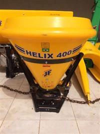 Distribuidores de Fertilizantes, Calcário e Semeadeira JF HELIX 400