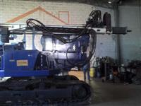 Perfuratriz hidraulica de helice segmentada hollow auger