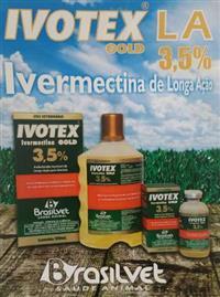 IVOTEX GOLD LA 3,5% IVERMECTINA LONGA AÇÃO