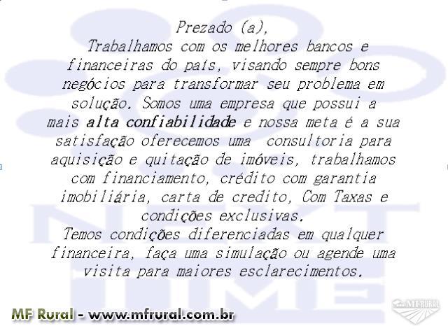 CARTAS DE CRÉDITOS, FINANCIAMENTOS E CREDITOS COM GARANTIA