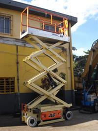 Plataforma Elevatória, JLG, 2030ES Tesoura, ano 2007, Valor R$ 40.000,00