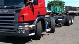 Eixo direcional para cavalo mecânico e caminhão truck (quarto eixo)