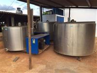Tanques de resfriamento de leite Etscheid - 1600, 2500 e 3000 litros
