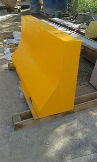 Barreira Defensa Modelo New Jersey de concreto pré-moldado