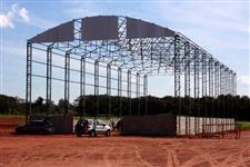 Galpão - Pavilhão estrutura metalica