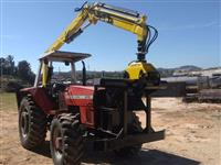 Trator Massey Ferguson 610 4x4 ano 96