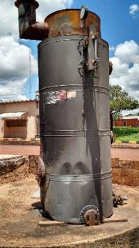 Caldeira a lenha 400 kgs/hora de Vapor