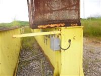 Tubos de irrigação, de  três polegadas, em aço zincado, engate rápido