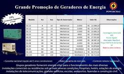Geradores de Energia Diesel