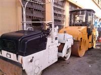 Rolo Compactador Articulado Liso de 3 ton p/ Asfalto