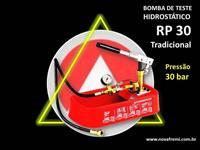BOMBA DE TESTE HIDROSTÁTICO  MODELO RP 30 - ORIGINAL - RESERVATÓRIO PLÁSTICO -  PRESSÃO 30 BAR