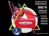 BOMBA DE TESTE HIDROSTÁTICO MODELO 860 N – NOVA FREMI – PRESSÃO DE 140, 210 OU 420 BAR