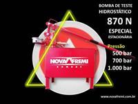 BOMBA DE TESTE HIDROSTÁTICO MODELO 870 N – NOVA FREMI – PRESSÃO DE 525, 700 OU 1.000 BAR