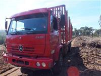 Caminhão  Mercedes Benz (MB) traçado transtora florestal  ano 01
