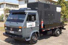 Gerador Cummins  170Kva Silenciado  - Muito Novo + Caminhão VW 7.90s