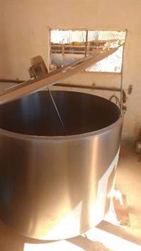 Resfriador leite 1200 litros e ordenha com 2 conjuntos