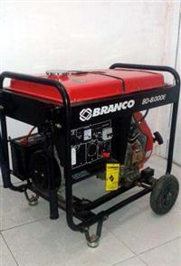 Gerador de Energia a Diesel BD 8000E BRANCO