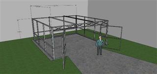 Steel Sheds (Galpão Metálico) Solução dinámica para sua Falta de Espaço