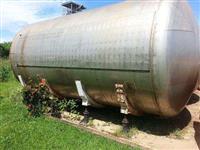 Tanque de Inox 304, chapa 3,2 mm