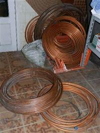 ELETRODOS gerais,aço inox e cobre e CANOS COBRE – refrigeração/ar condicionado