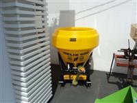 Distribuidor de adubo / calcario e sementes novo, marca JF, modelo Helix 600