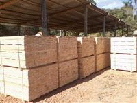 Madeira serrada de eucalipto para pallets