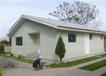 casa en esteel frame