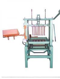 Máquina para fabricação de blocos de concreto