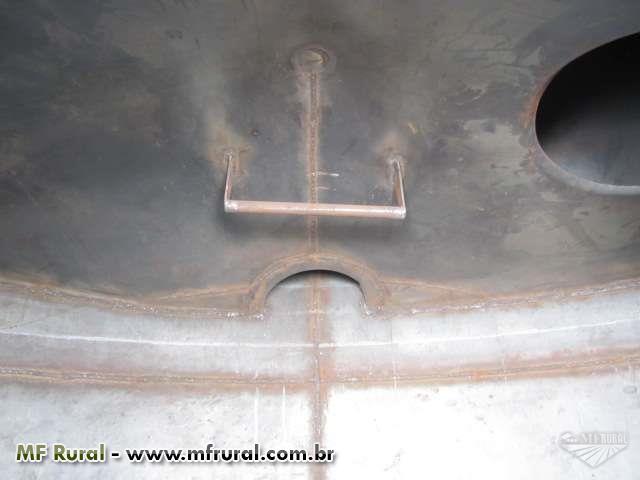 Tanque de água para caminhão pipa bombeiro