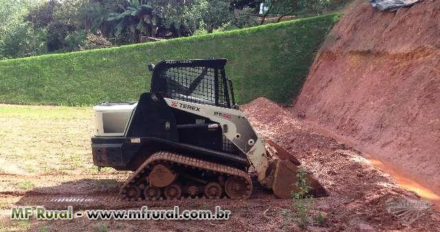 Mini Carregadeira TEREX PT 50 2011
