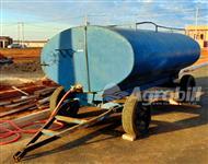 Tanque de Água 6200 Litros – Sobre chassis de 4 Rodas