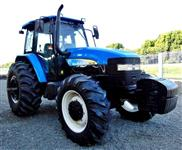 Trator New Holland TM 135 4x4 ano 06