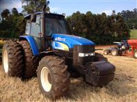 Trator Ford/New Holland trator tm7040 entrada 25.000 + 4anos 4x4 ano 10
