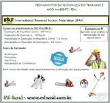 TREINAMENTO DE OPERADOR DE ROÇADEIRA LATERAL E COSTA