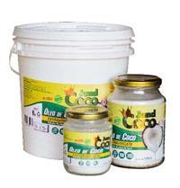 Óleo de coco extravirgem puro - A granel/ 200 ml e 500 ml