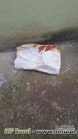 Área de quartzito branco