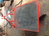 Plataforma traseira de hidráulico