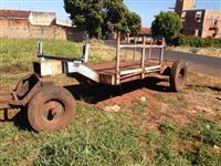Carreta de 4 rodas super reforçada