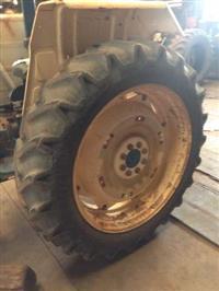 Pneus com rodas 13-6/38 para cultivo