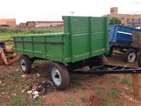 Carreta de 4 rodas para 4 ton