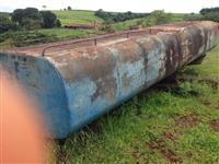 Tanque de 18 mil litros para água