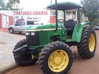 Trator John Deere turbinado 4x4 ano 02
