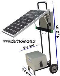 Gerador solar portatil